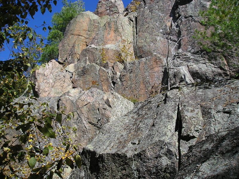 Rock Climbing Photo: No routes in here yet, some potential