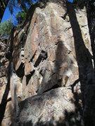 Rock Climbing Photo: Zleb 5.11a