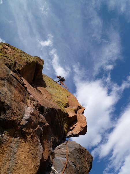 Rock Climbing Photo: One of the best belay spots in the park, atop the ...