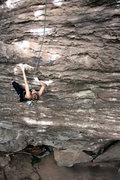 Rock Climbing Photo: Jess on Big Money Grip (TR)