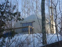 Rock Climbing Photo: Yurt in Canada.