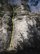 Rock Climbing Photo: Herniated Disk