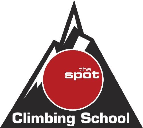 Spot Climbing School Logo.