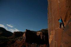 Rock Climbing Photo: Rednekk at the start.