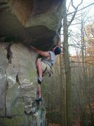 Rock Climbing Photo: overhang