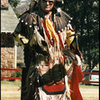 Native American at The Snyder Pow Wow, Carson City.<br> Photo by Blitzo.