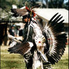 Young Native American at Snyder Pow Wow, Carson City.<br> Photo by Blitzo.
