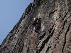 Rock Climbing Photo: Mont Orford, QC, Canada, La cuerda 5.11d