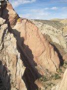 Rock Climbing Photo: A)Scorpian Slab 5.9-.. B) Dancing in the Dark 5.6