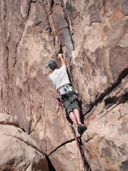 Rock Climbing Photo: About half way up Ranger JD