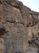 Rock Climbing Photo: This is my friends four year old son climbing the ...