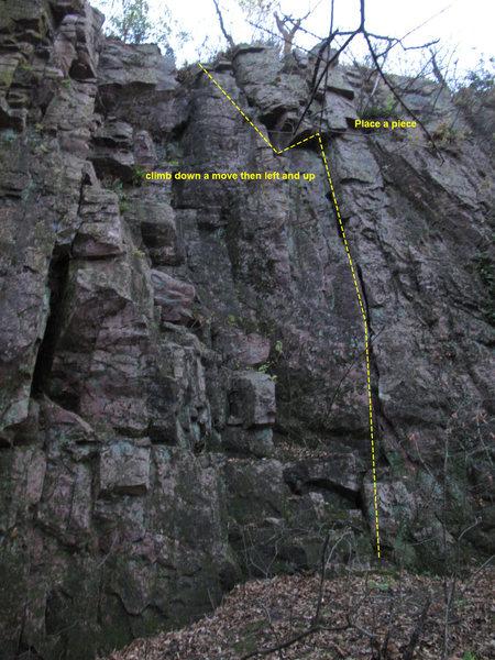 Rock Climbing Photo: fun lead