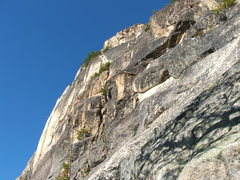 Rock Climbing Photo: The N.Face/S.W.rib route from the base