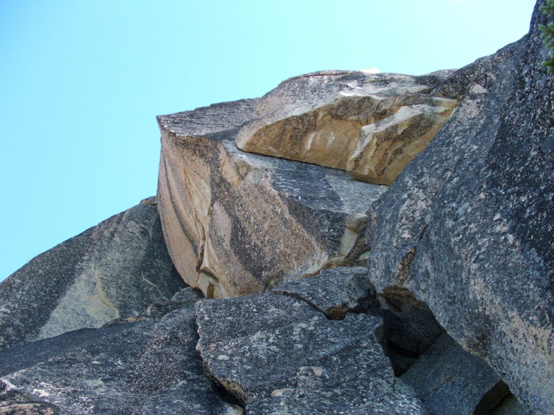 Rock Climbing Photo: Bowving Roof