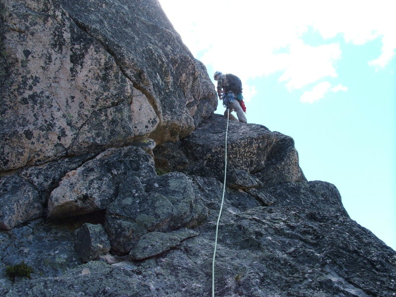 Zach on pitch 5