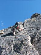 Rock Climbing Photo: Zach on pitch 10