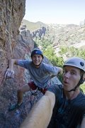 Rock Climbing Photo: Peter and I at the pinnacles