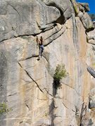 Rock Climbing Photo: Another view of our send princess before she becam...