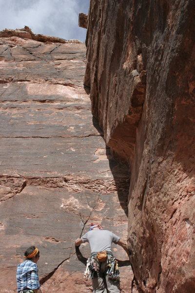 Rock Climbing Photo: Valentine's Day (5.8+)