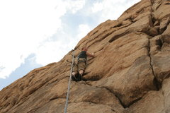 Rock Climbing Photo: Krissy (ex-wife) following Solar Technology. Fun c...