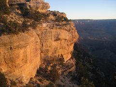 Rock Climbing Photo: Lower Flailing Wall
