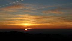 Rock Climbing Photo: Sunrise in the Presidential Range. Nov. 14, 2010.