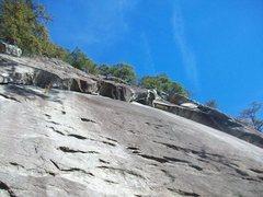Rock Climbing Photo: Fun crux! Don't exit early