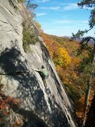 Rock Climbing Photo: Unknown Sport Route 5.9 great fun