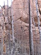 Rock Climbing Photo: Dave M. gettin' it done on a beautiful November da...