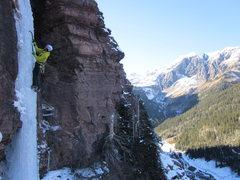 Rock Climbing Photo: DNF- pillar pitch.