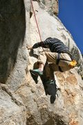 Rock Climbing Photo: Will moving through the steep start to Clip Art, 5...