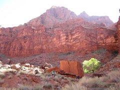 Rock Climbing Photo: backcountry boulders