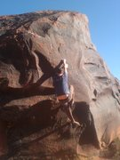 Rock Climbing Photo: Side Pulls