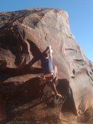 Rock Climbing Photo: Side Pulls