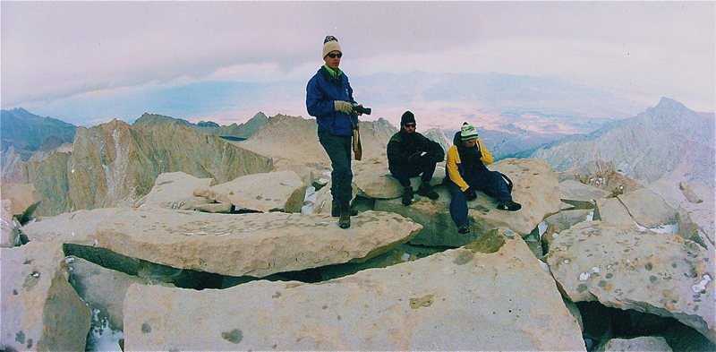 Rock Climbing Photo:  mt whitney