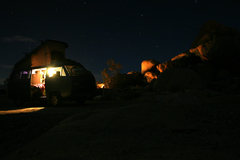 Rock Climbing Photo: Beautiful night in Ryan.