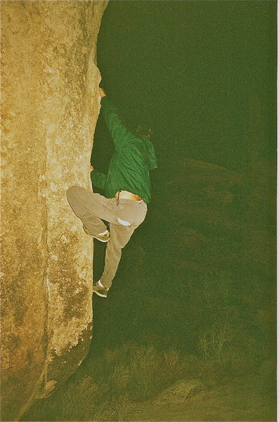 Rock Climbing Photo: rastafari