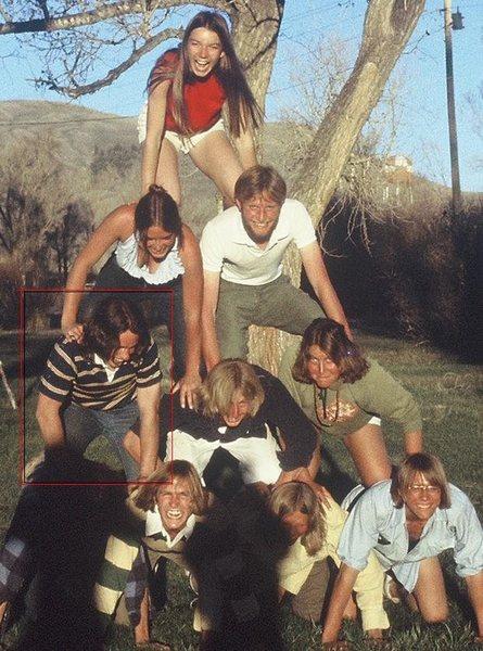 Climbers picnic - Spring 1976 -