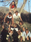 Rock Climbing Photo: Climbers picnic - Spring 1976 -