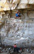 Rock Climbing Photo: Mike A flashing Apollo Reed.