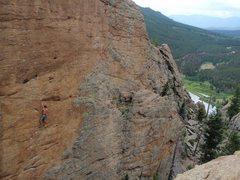 Rock Climbing Photo: Mike Burdon on Andrology. 2010.