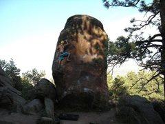 Rock Climbing Photo: Standard Route. Mike Burdon.