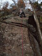Rock Climbing Photo: Michael Gray leads Stairway to Heaven's first pitc...