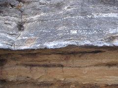 Rock Climbing Photo: Traverse left