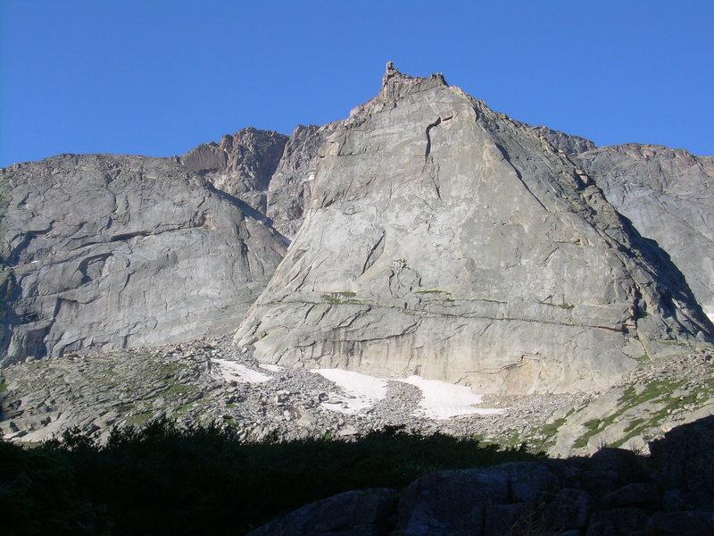 Rock Climbing Photo: A classic alpine face!