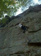 Rock Climbing Photo: Its a jug!