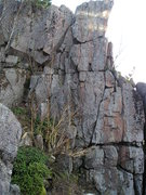 "Rock Climbing Photo: Beautiful looking climb, the 3 ""vertical bloc..."
