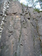 Rock Climbing Photo: Short bolted route,