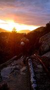 Sunset in Big Creek
