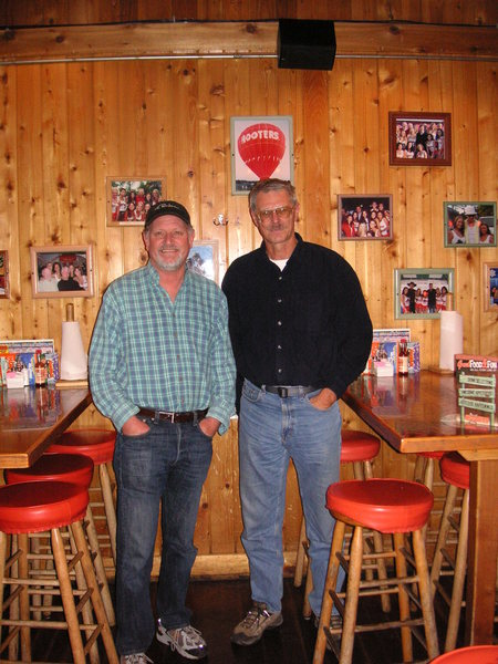 A recent photo of the infamous Bob Dickerson and me.